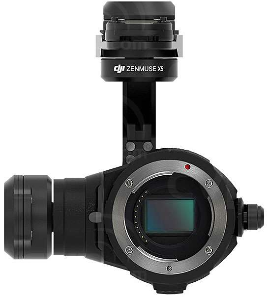 DJI Zenmuse X5 3-Axis Gimbal and Camera (Excluding Lens)