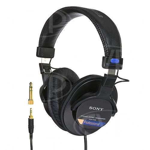 Sony MDR-7506/1 (MDR7506/1) Stereo Headphones (0-20.000 Hz)
