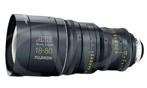 Arri / Fujinon Alura Zoom Lens 18-80/T2.6 (feet)