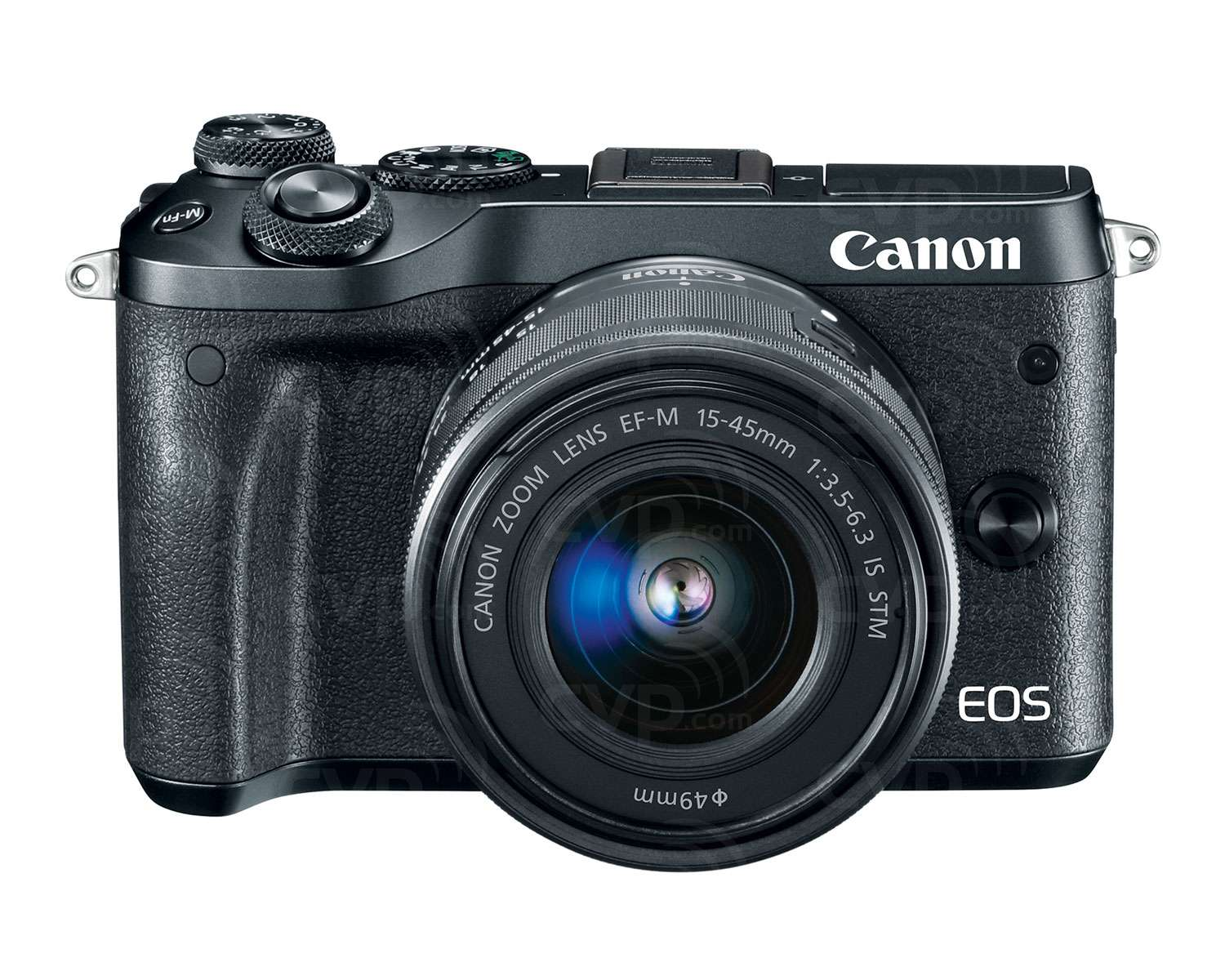 EOS M6 with 15-45mm Lens