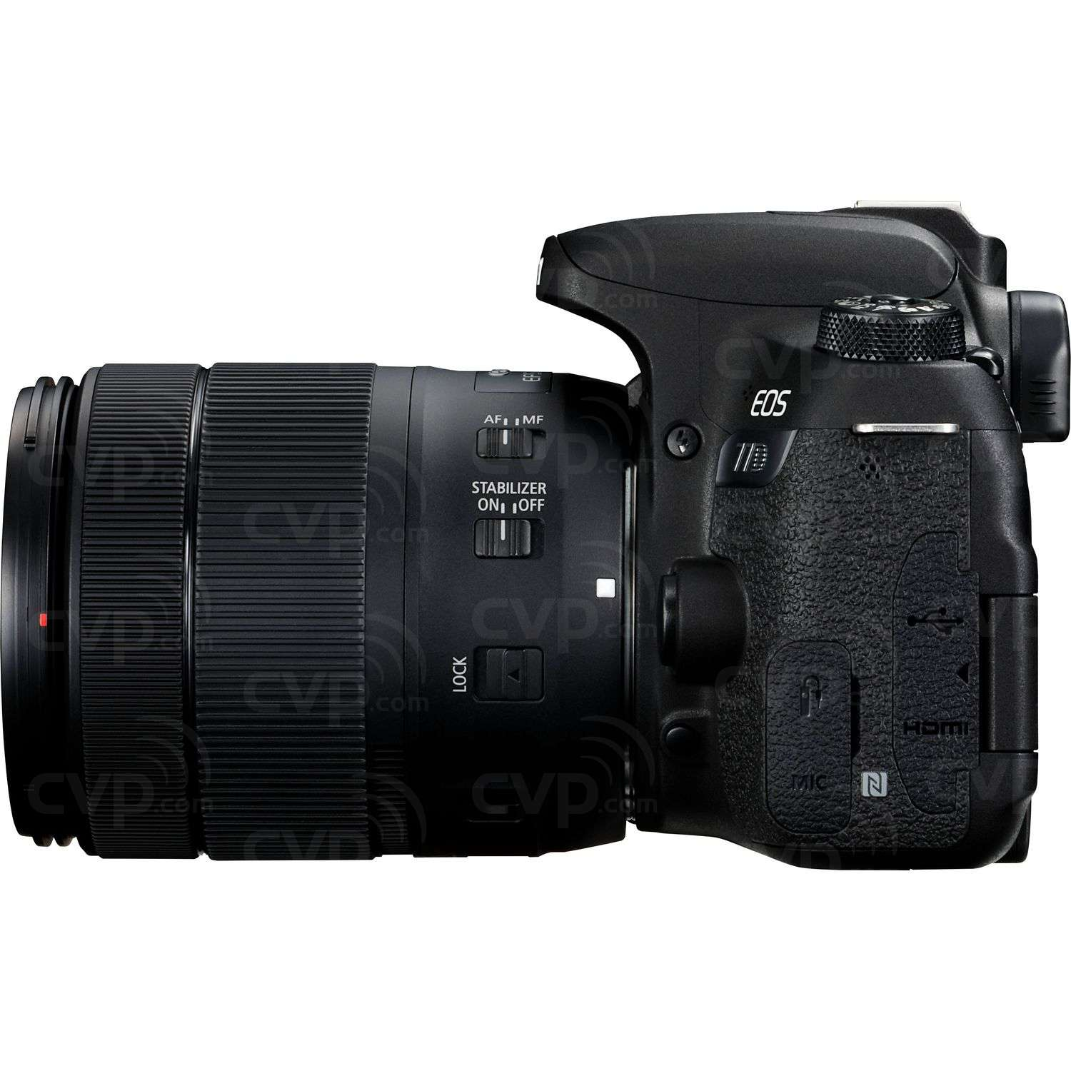 Canon EOS 77D + EF-S 18-135mm f/3.5-5.6 IS USM Lens