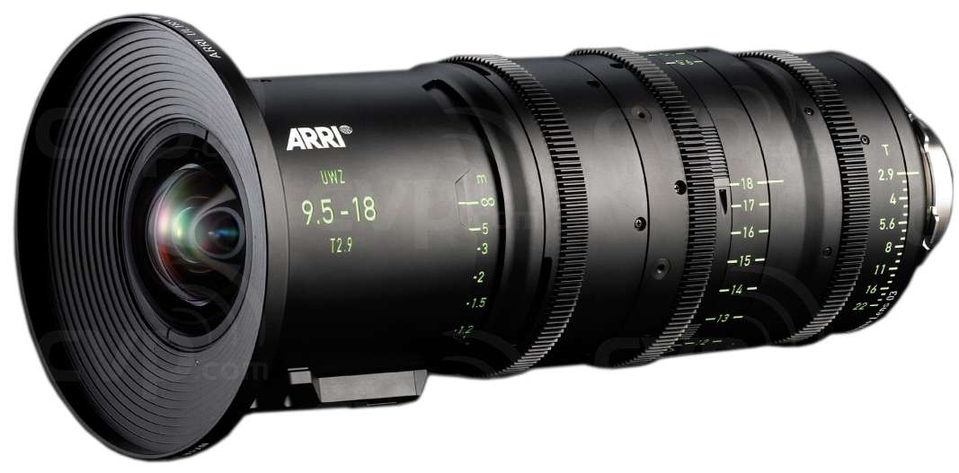 ARRI 9.5-18mm T2.9 Ultra Wide Zoom UWZ PL Mount LDS