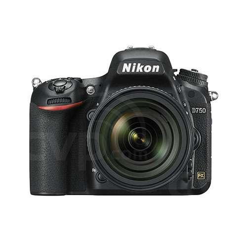 Nikon D750 24.3MP Full Frame Digital SLR Camera with 24-120mm