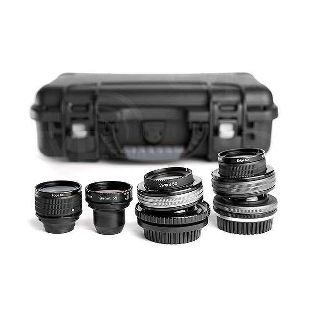 Lensbaby LBPLKIT2 (LBPL-KIT2) Movie Makers Kit II - includes Composer