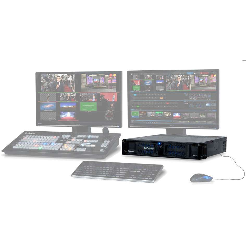 NewTek (TC460MSALA) TriCaster 460 Multi-Standard 15 Channel Vision Mixer with