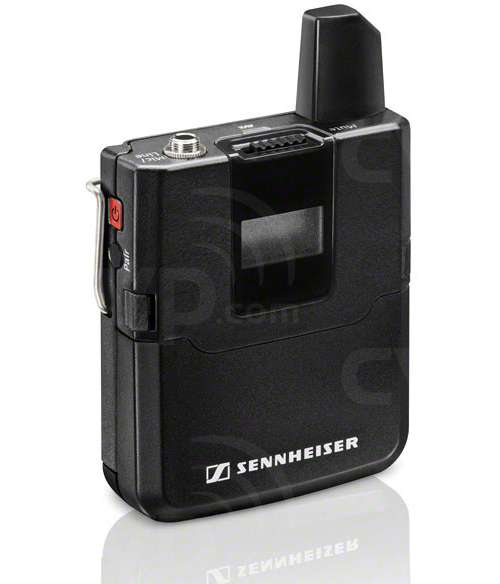 Sennheiser AVX-MKE2 Wireless Microphone set including MKE 2 Lavalier Microphone,