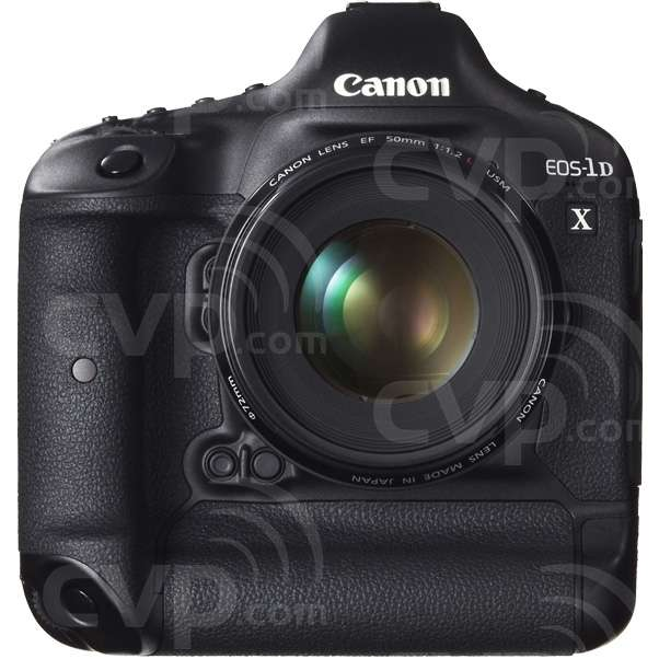 Canon EOS 1D X (1DX, EOS1DX, 1Dx, EOS-1D) 18MP professional grade Digital SLR Body Only Front