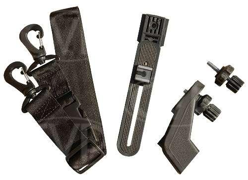 CVP SM1 Shoulder mount camcorder support bracket system - Supplied