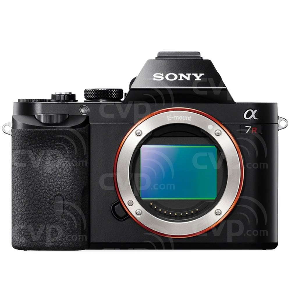 Sony A7R 36.4MP Compact System Camera with a 35mm Full