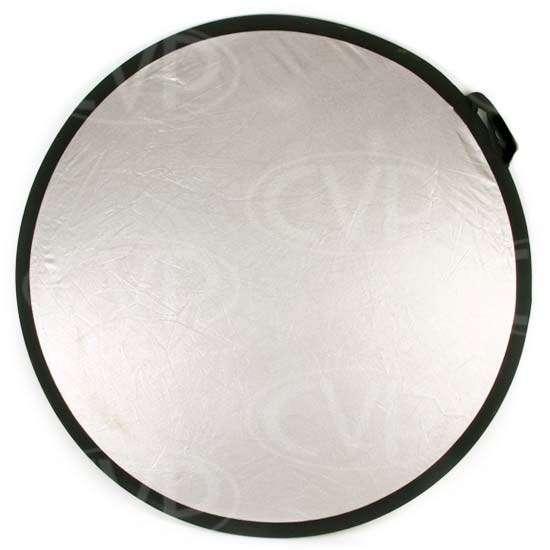 Visual Departures 38-2 Flexfill 38inch circular silver/white pop-up reflector