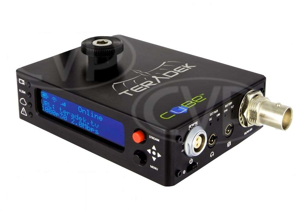 Teradek (TER-CUBE105) CUBE-105 1 Channel HD-SDI Video Encoder with OLED