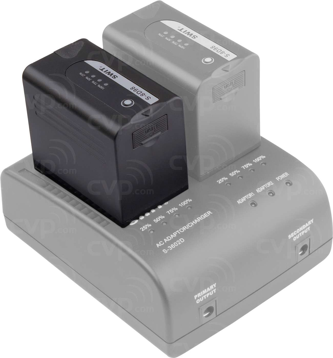 Swit S-8D98 Panasonic Battery - Additional battery and charger not