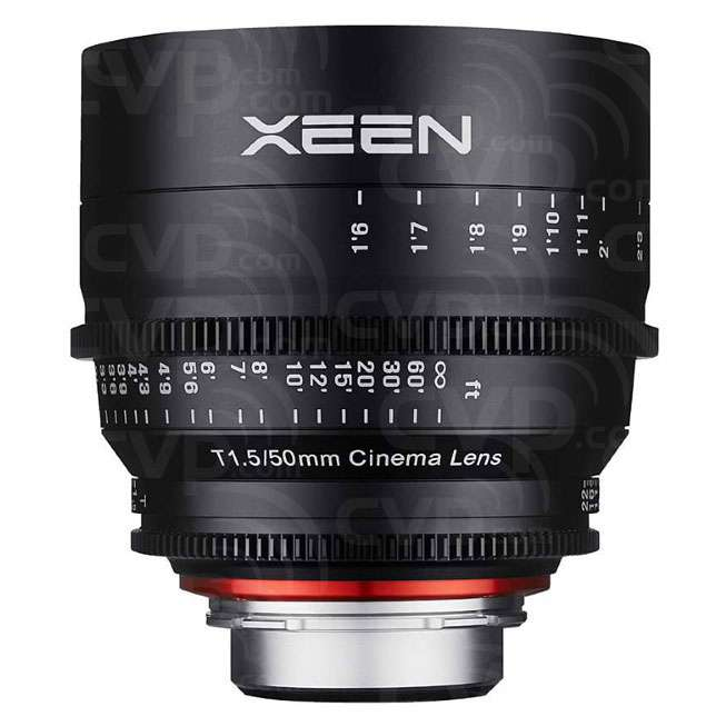 Samyang 50mm T1.5 XEEN Cine Lens - Micro Four Thirds