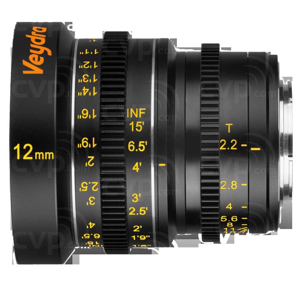 Veydra Mini Prime 12mm T2.2 - Micro 4/3 Mount (VYD12M43I)