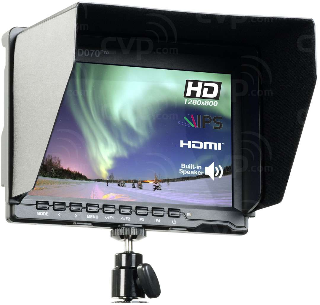 AVtec AVT-XHD070Pro (AVTXHD070Pro) 7 Inch Lightweight On-Camera HD DoP Monitor