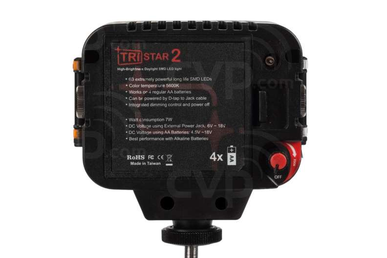 TRISTAR 2 On-Camera LED