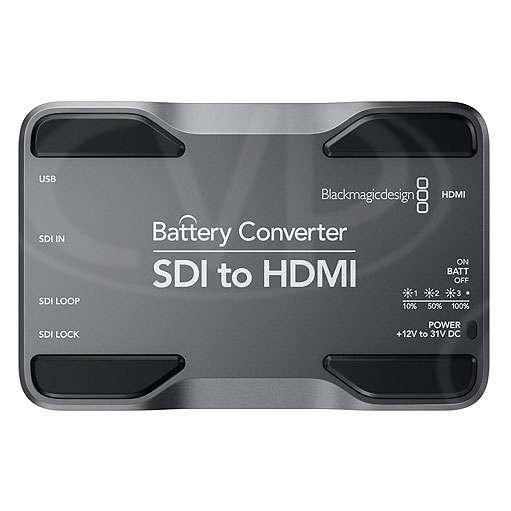 Blackmagic Design Battery Converter SDI to HDMI- for connecting SDI