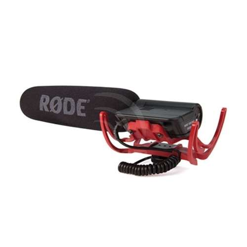 Rode VideoMic-R Shotgun Camera microphone with Rycote suspension mount and