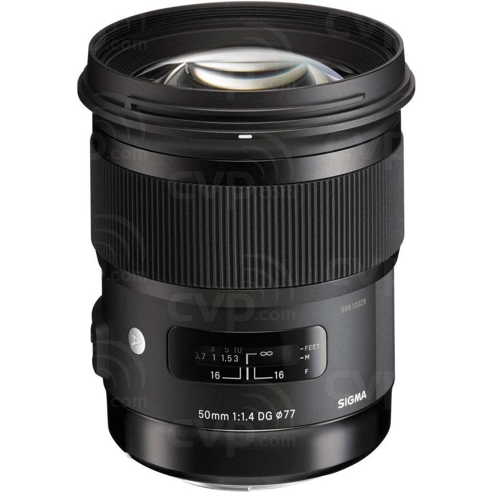 Sigma (311954) 50mm f/1.4 DG HSM A Series Art Lens
