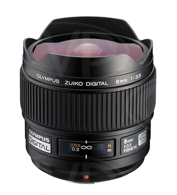 Olympus 8mm f3.5 Zuiko Digital ED Fisheye Lens - Micro