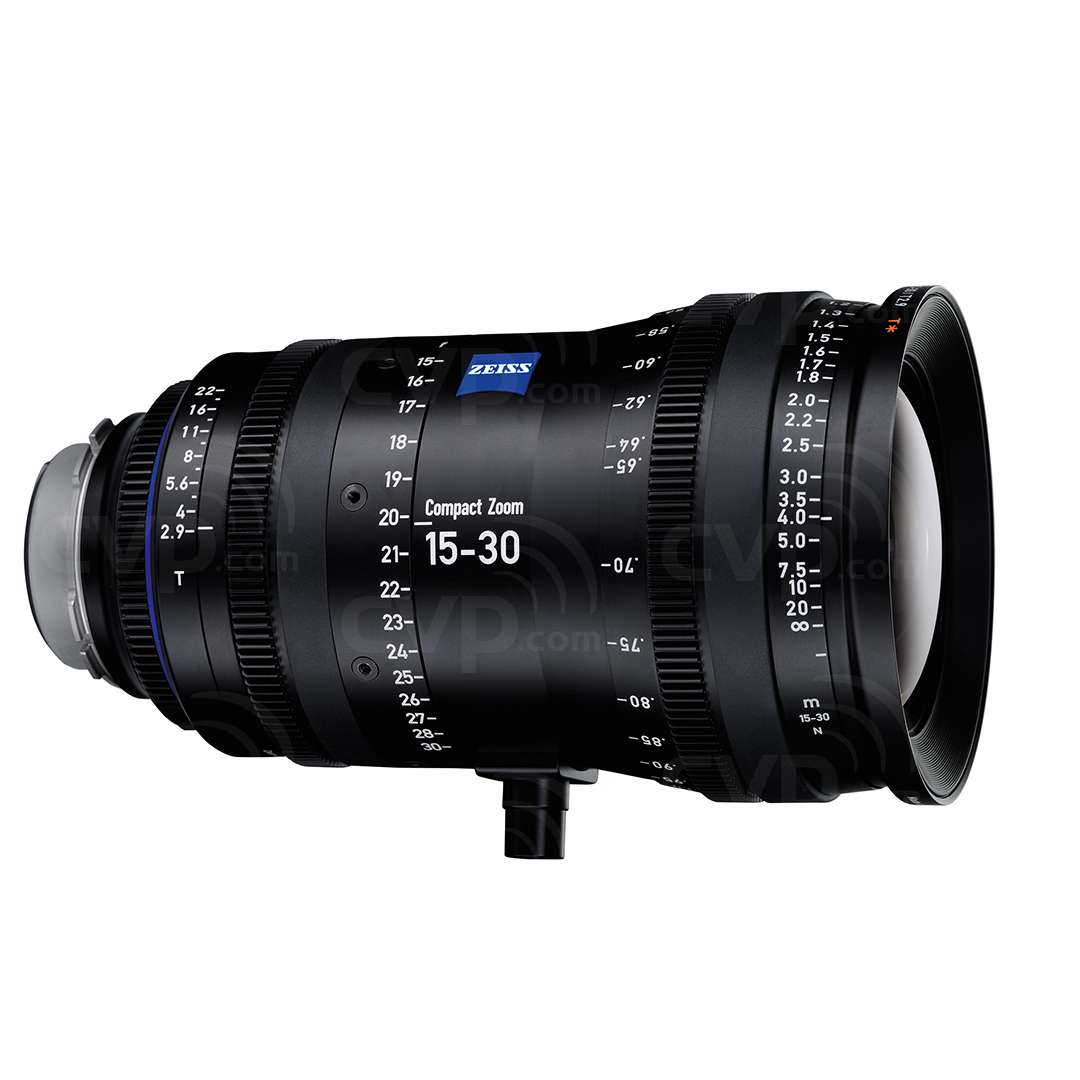 Carl Zeiss 15-30mm T2.9 CZ.2 Compact Zoom Cine Lens -