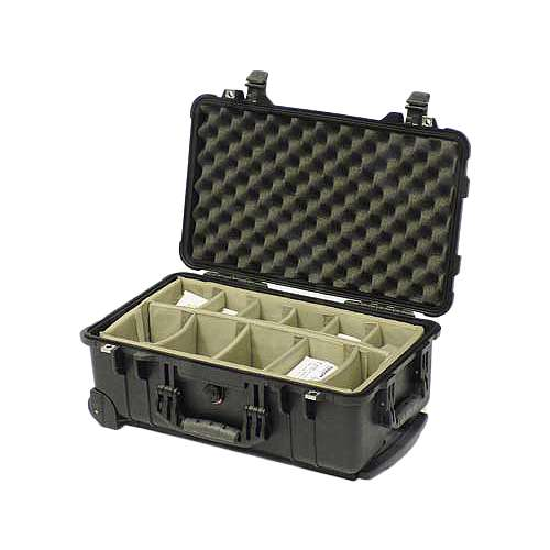 Peli Products 1510WD Waterproof Travel Case with Dividers (Pelican, Pelicase)