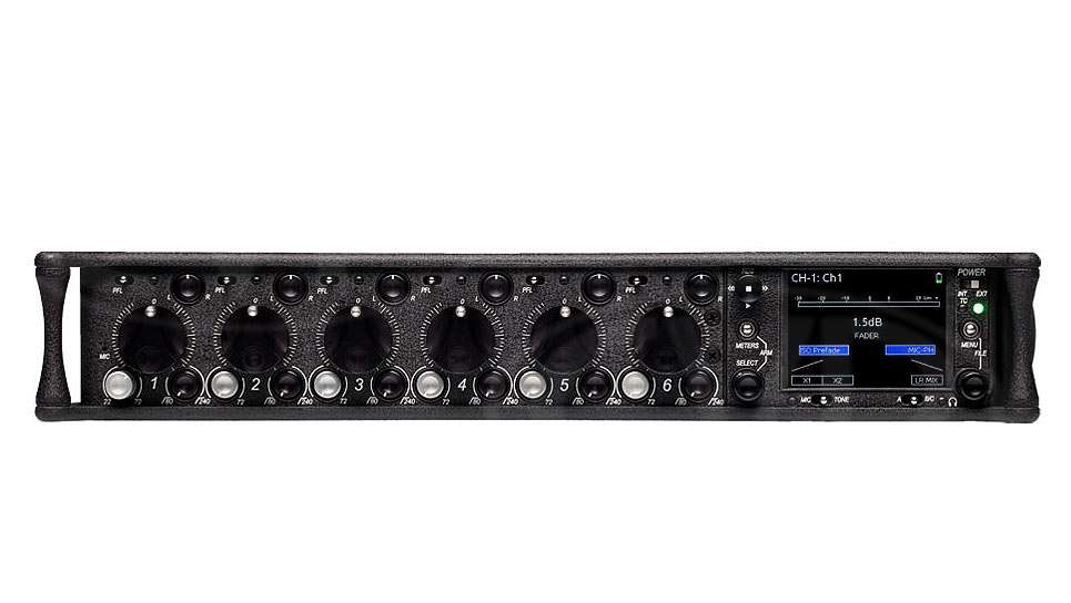 Sound Devices 664 Six Channel Portable Production Mixer with Integrated