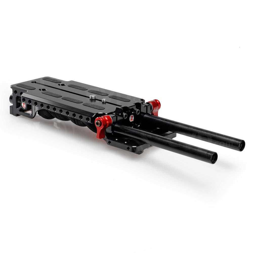 Zacuto VCT Universal Baseplate - low profile with gel shoulder