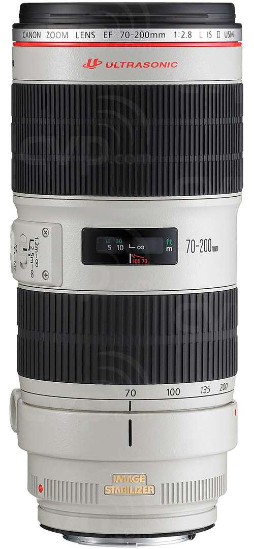 Canon EF70-200 F2.8L USM EOS mount 35mm SLR zoom lens (Canon p/n 2569A018AA)