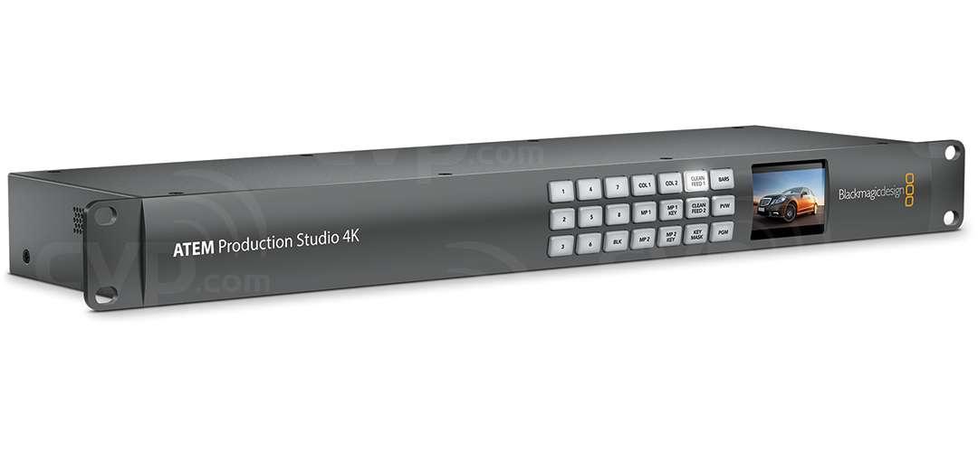 Blackmagic Production Switcher 4K-Rear