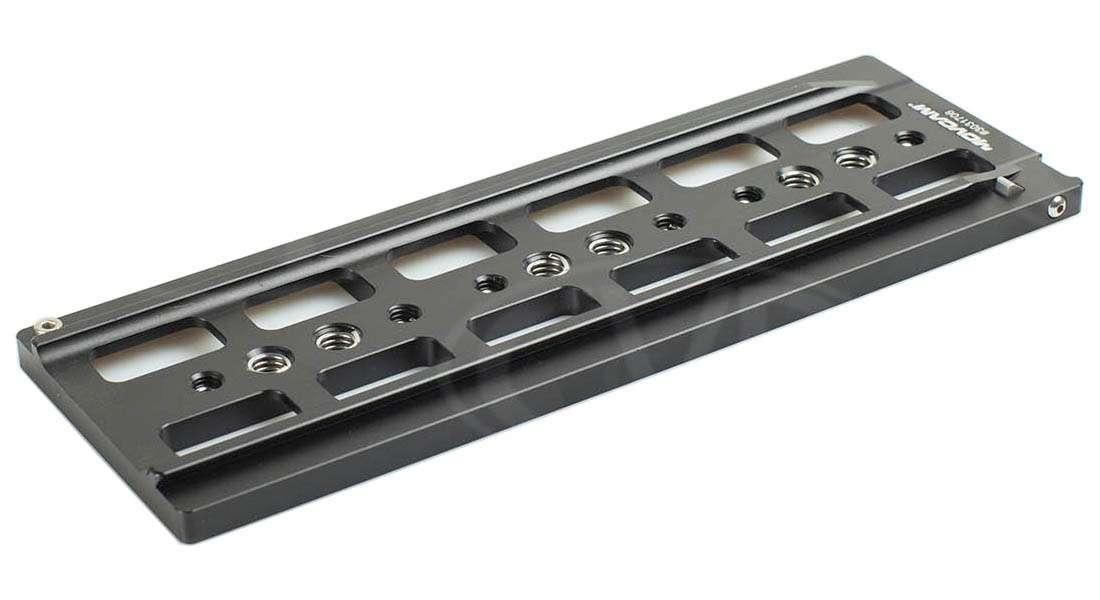 Movcam 303-1706BK (3031706BK) LWS Dovetail Baseplate - Black