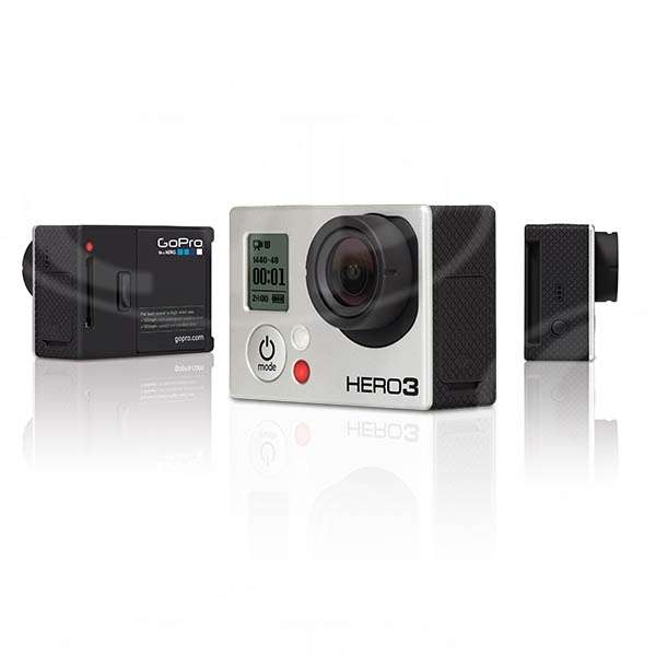 GoPro HERO3 Black Edition 12MP Camera includes Wi-Fi Remote and