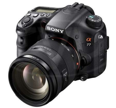 Sony SLT-A77VQ (SLTA77VQ ) Alpha 24.3 megapixel DSLR Camera with