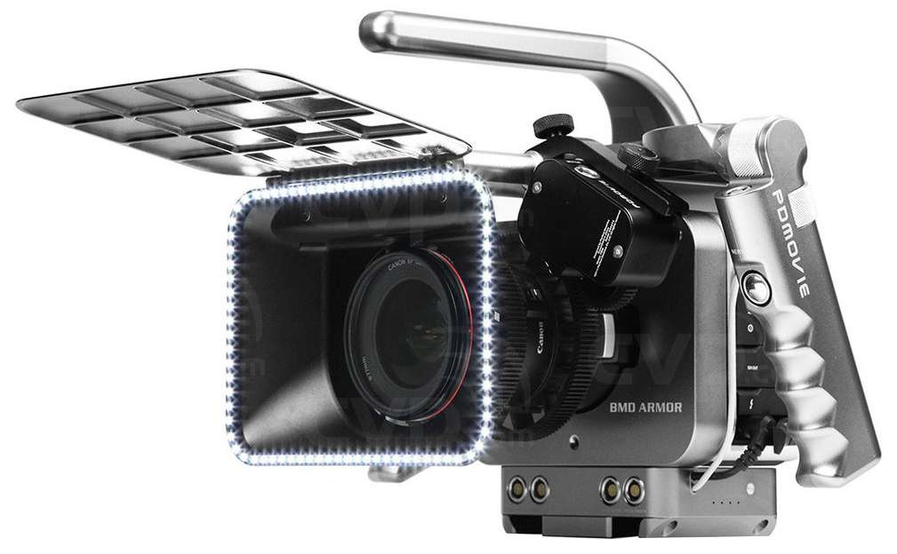 PDMovie BMD-HR (BMDHR) BMD Armor Handheld Rig for BMCC and