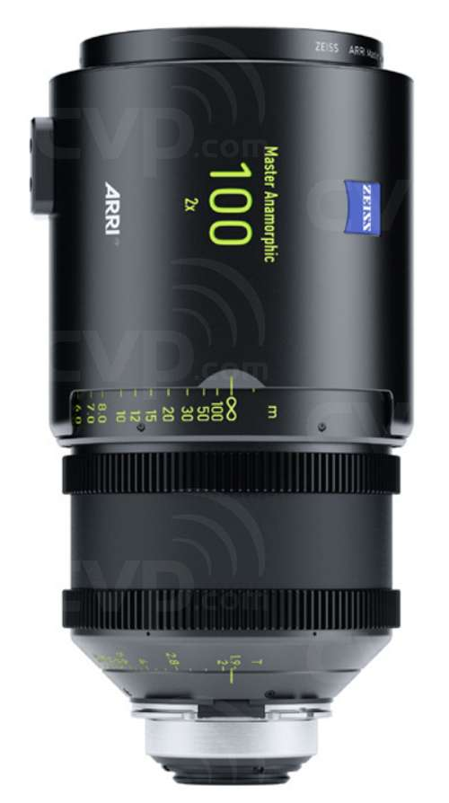 ARRI 100mm T1.9 Master Anamorphic PL Mount Lens - (Available