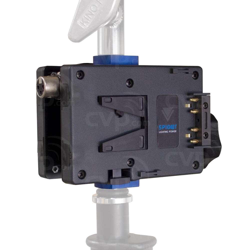 Hawk-Woods SPG-14 (SPG14) Spigot V-Lok 14V Light Stand Power Adaptor