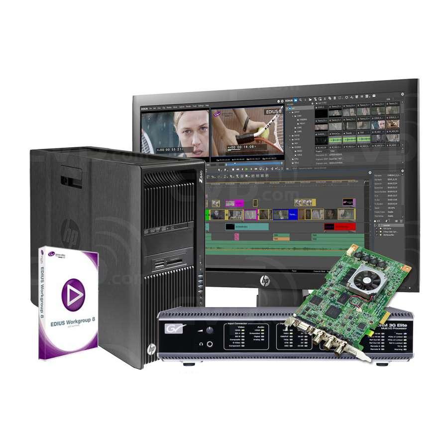 EDIUS Storm 3G Elite System