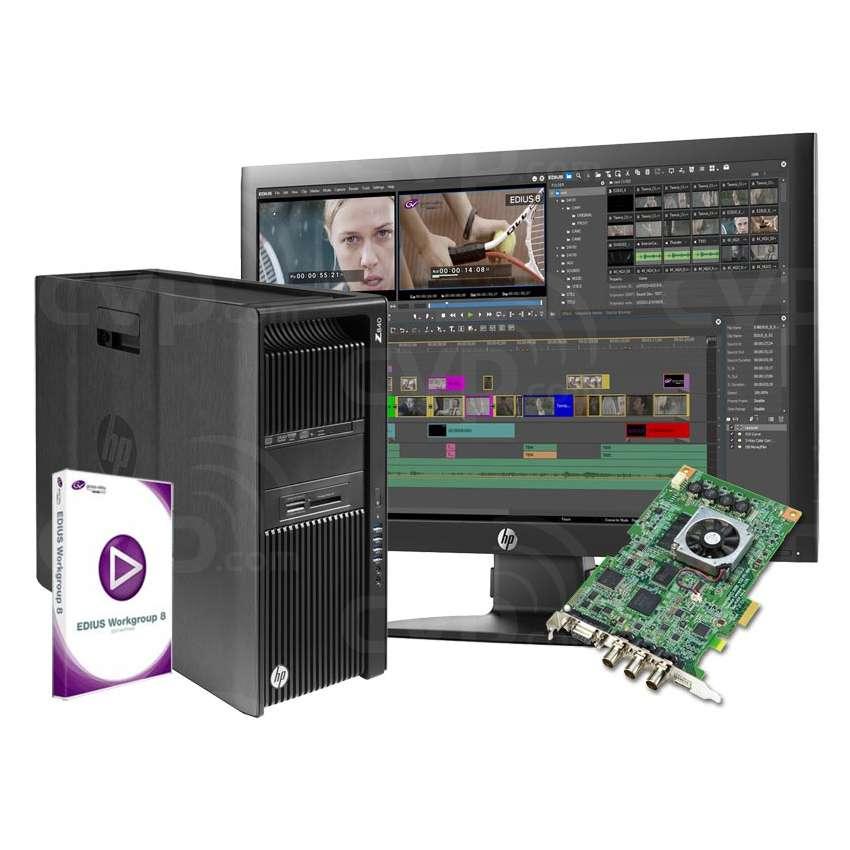 EDIUS Storm 3G Turnkey System