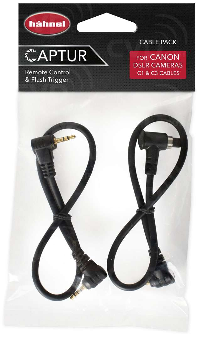 Hahnel Remote Control and Flash Trigger Cable Pack for Canon
