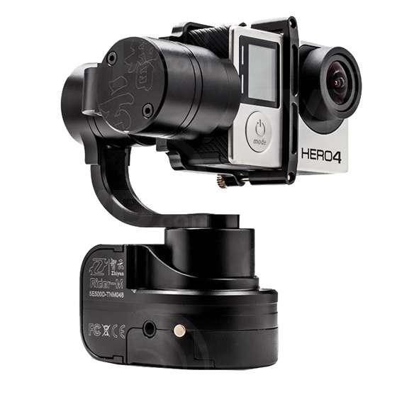 Zhiyun-Tech Rider-M Mini Portable Stabilizer Compatible with Go Pro Cameras
