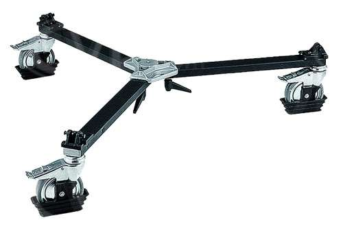 Manfrotto 114MV (114-MV) Cine/Video Dolly with Spiked Feet