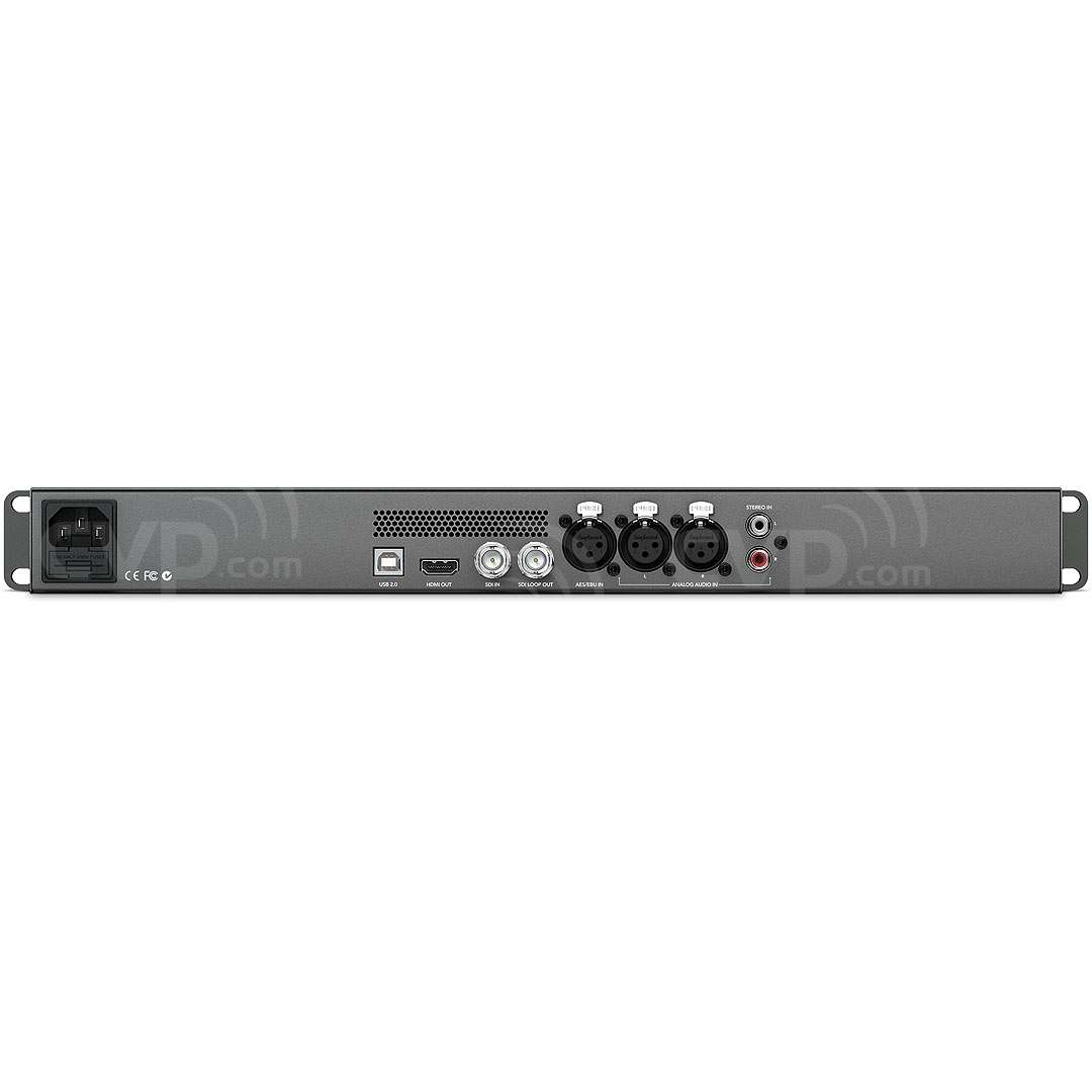 Blackmagic Design Audio Monitor - high quality rack mount audio