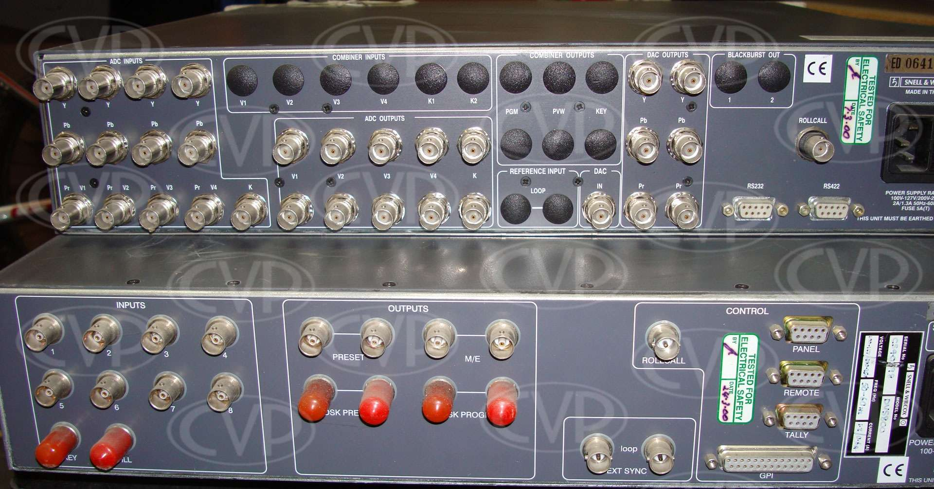 USED Snell & Wilcox DVS800 Production Switcher (Vision Mixer) /