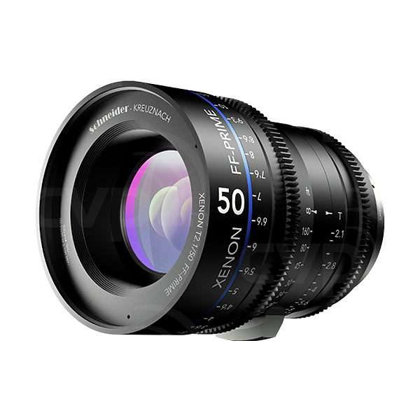 Schneider Xenon 50mm T2.1 FF Prime Lens - Canon (FT)