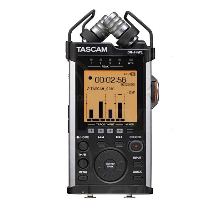 Tascam DR44-WL (DR44WL) Portable 4-Track Linear Handheld Recorder with Stereo
