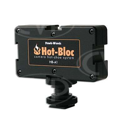 Hawk-Woods HB-A1 (HBA1) Hot Bloc Adaptor for hot-shoe fitting to