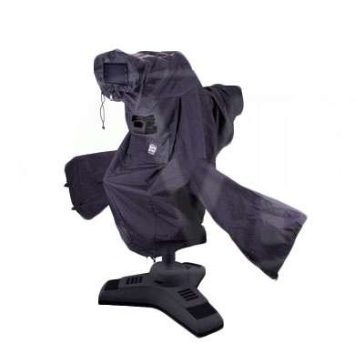 Portabrace CLK-1 (CLK1) Camera Cloak for studio/ OB camera rig (black)