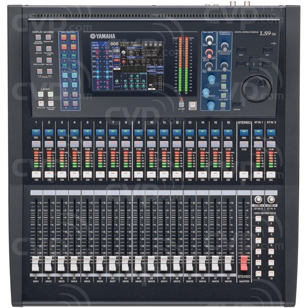 buy yamaha ls9 16 ls916 16 fader 32 channel compact digital mixing console with recallable. Black Bedroom Furniture Sets. Home Design Ideas