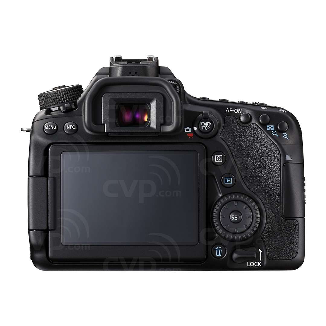 Canon EOS 80D + 18-55mm Lens