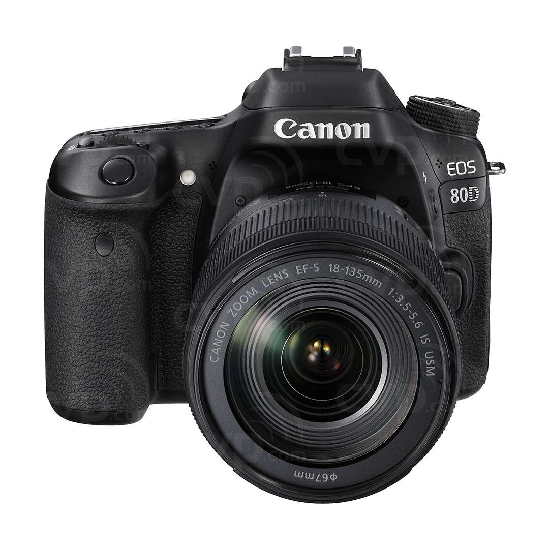 Canon EOS 80D + 18-135mm Lens